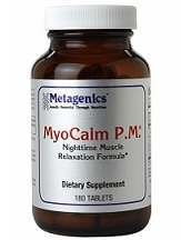 MyoCalm P.M. Metagenics Review