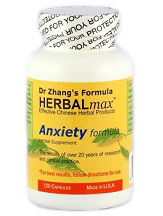 Dr. Zhang's Anxiety Formula HERBALmax Review