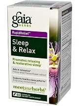 Gaia Herbs Sleep & Relax Review